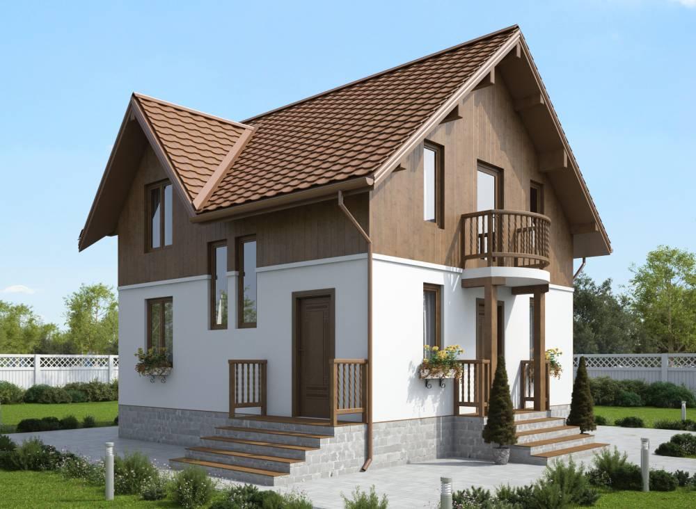 Проект каркасного дома САУНД